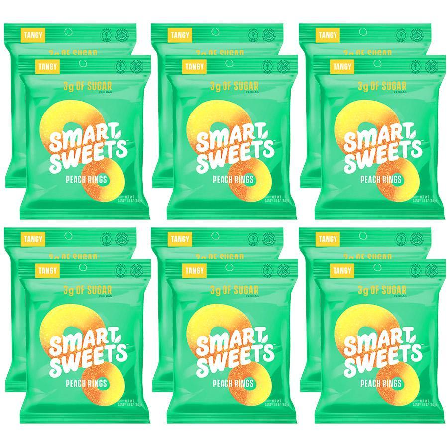 SmartSweets VEGAN Low-Sugar Candy (Box of 12) - Top Nutrition and Fitness Canada