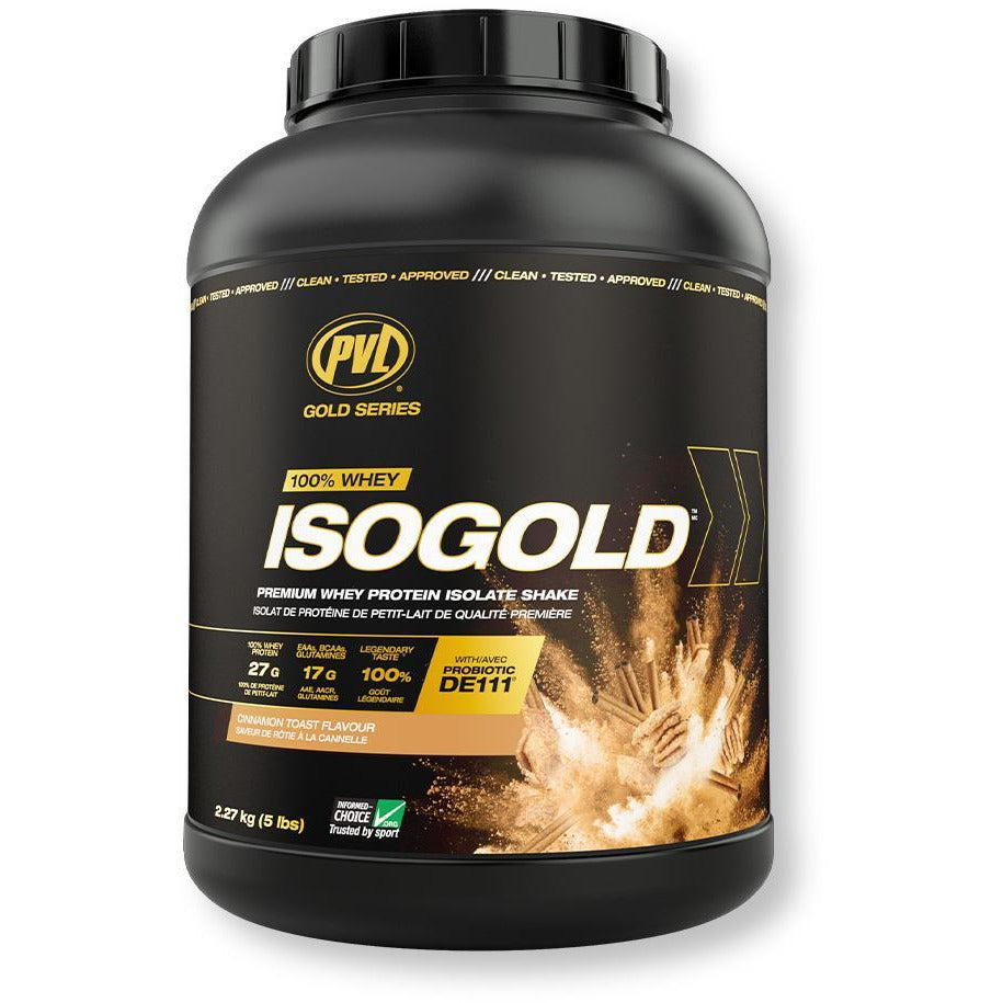 PVL IsoGold Whey Isolate & Hydrolysate (5lbs)