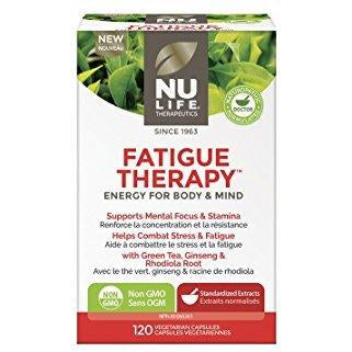 Nu Life Fatigue Therapy (120 capsules) - Top Nutrition and Fitness Canada