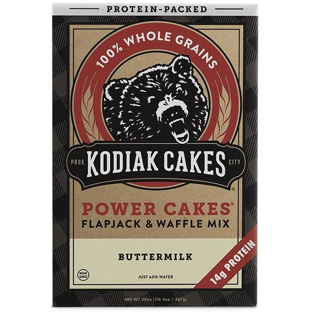 Kodiak Cakes Flapjack & Waffle Protein Mix - Top Nutrition and Fitness Canada