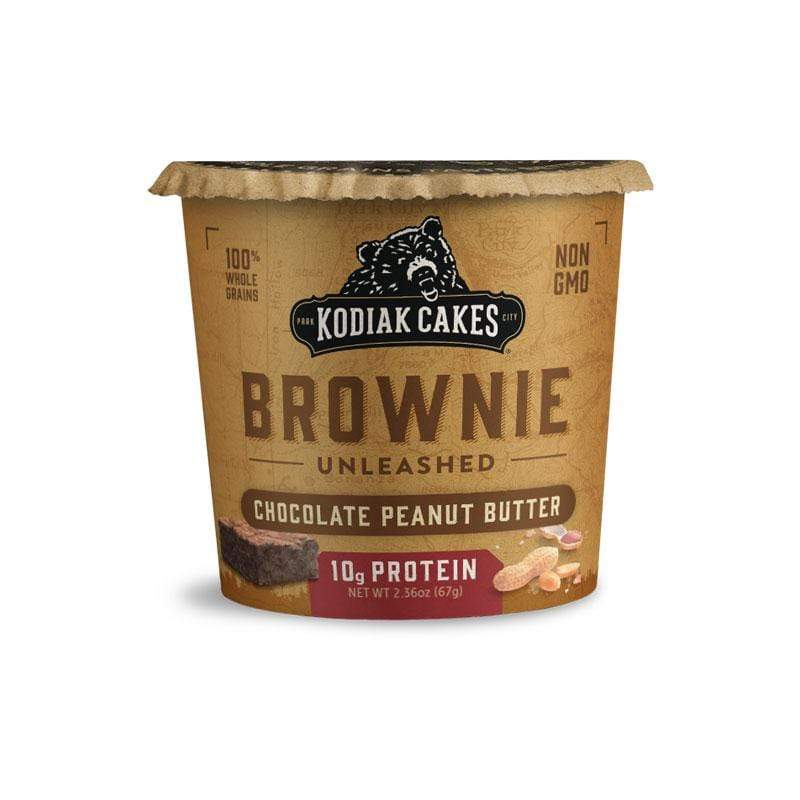 Kodiak Cakes Protein Brownie - Chocolate Peanut Butter (1 cup) - Top Nutrition and Fitness Canada