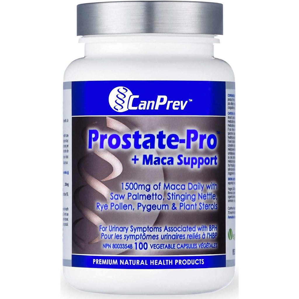 CanPrev Prostate Pro + Maca Support (100 vegetable capsules)