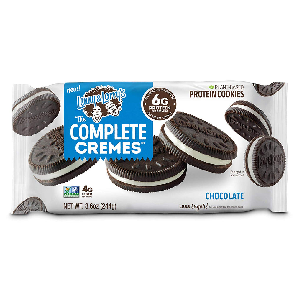 Lenny & Larry's The Complete Cremes (Vegan Protein Oreos - 1 Pack of 18) - Top Nutrition and Fitness Canada