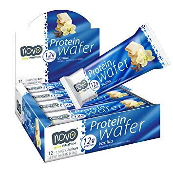 NOVO Protein Wafer (Box of 12) - Top Nutrition and Fitness Canada