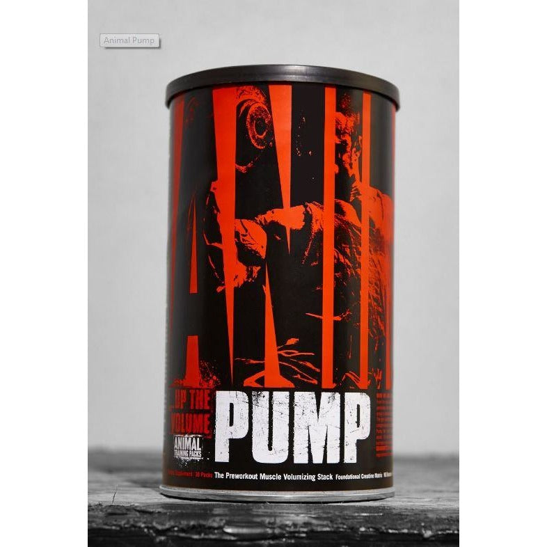 Animal PUMP Pre-Workout (30 PAKS) - Top Nutrition and Fitness Canada