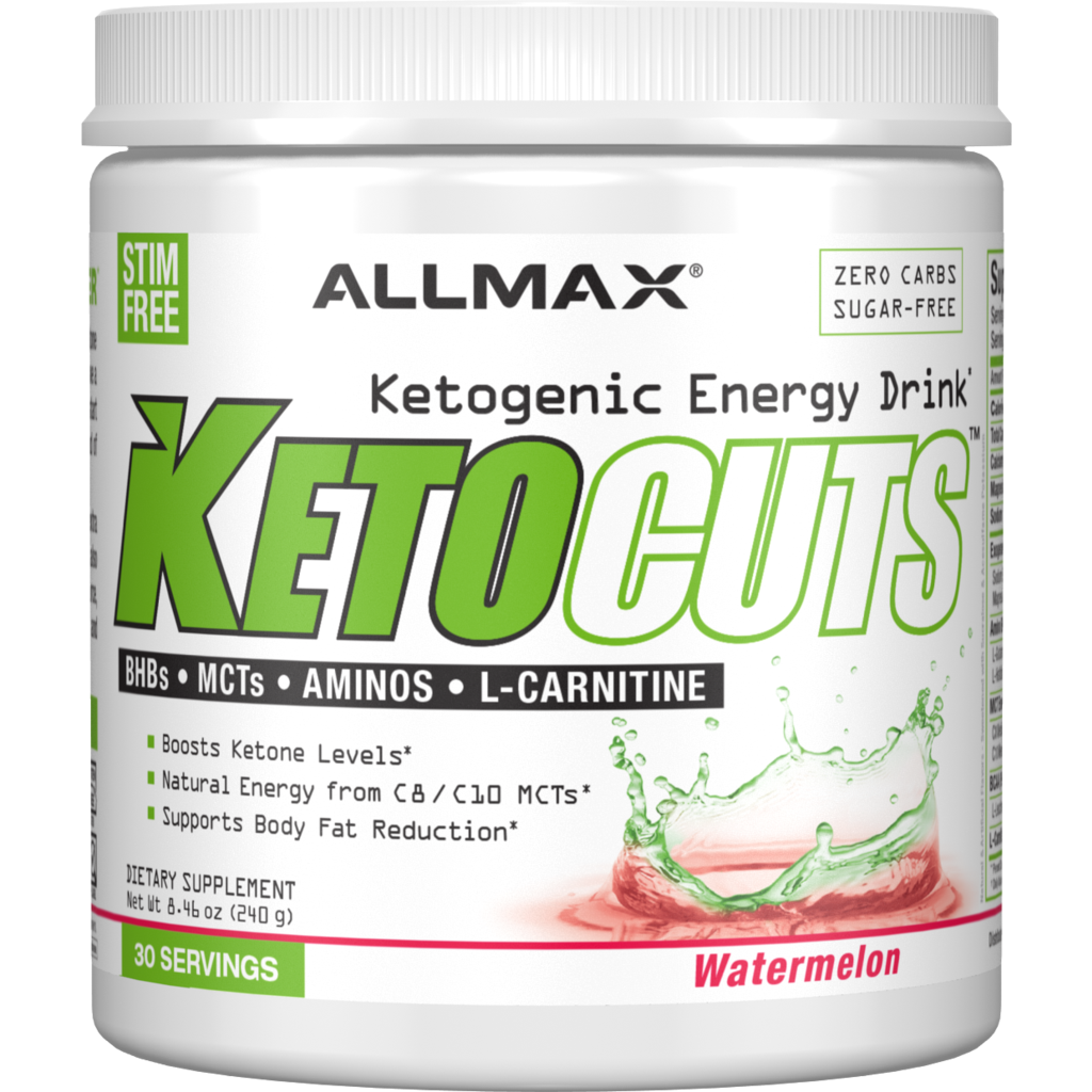 Allmax Keto Cuts (30 servings) - BHBs, MCTs, L-Carnitine & Aminos - Top Nutrition and Fitness Canada