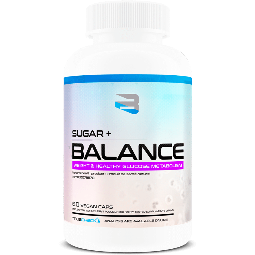 Believe Supplements Sugar+ Balance (60 capsules) - Top Nutrition and Fitness Canada