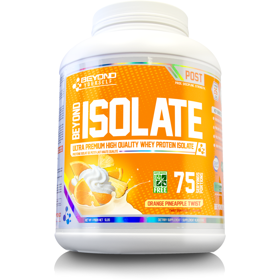 Beyond Yourself Whey Isolate (5 lbs) - Top Nutrition and Fitness Canada