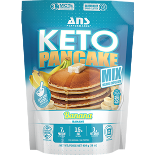 ANS Performance Keto Protein Pancake Mix (32 servings) - Top Nutrition and Fitness Canada