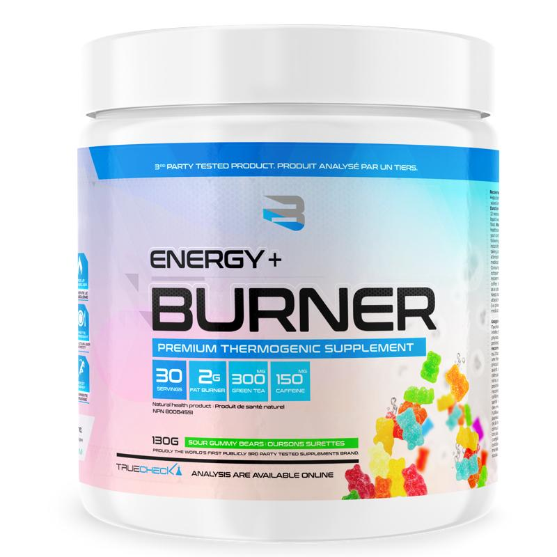 Believe Supplements Energy + Burner - Premium Thermogenic Supplement (30 servings)