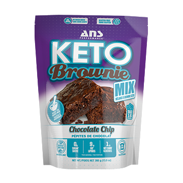 ANS Performance Keto Brownie Mix - Top Nutrition and Fitness Canada
