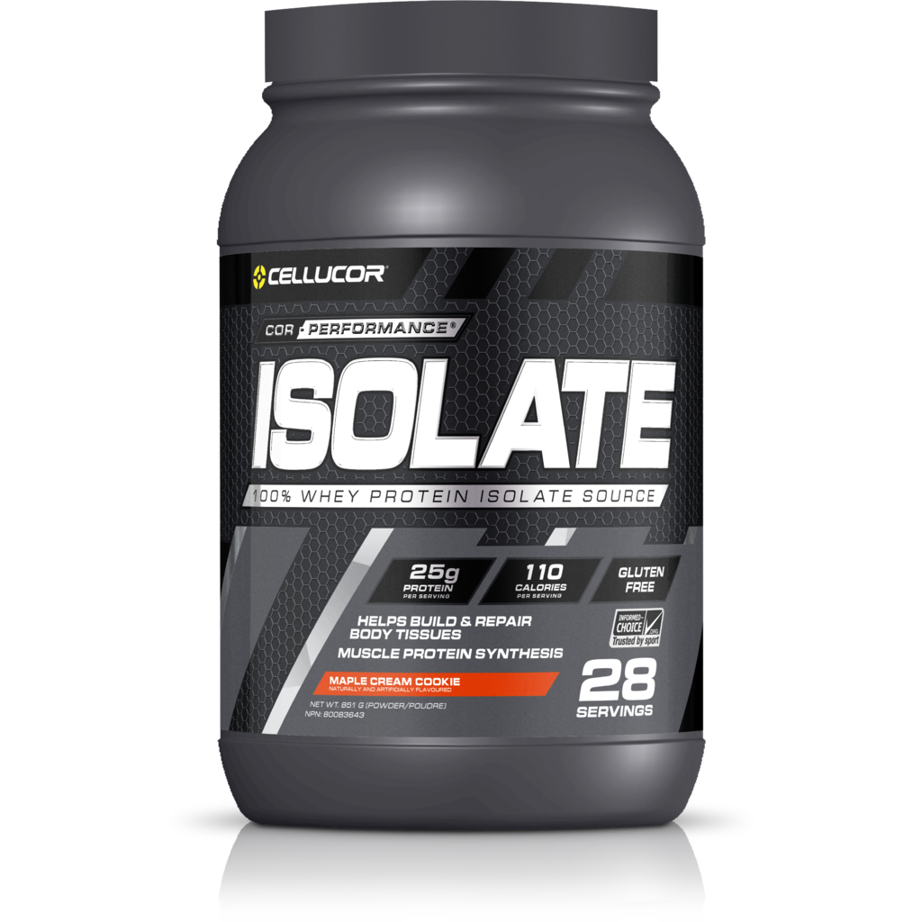 Cellucor Cor-Performance Whey Protein Isolate (2lbs) - Top Nutrition and Fitness Canada