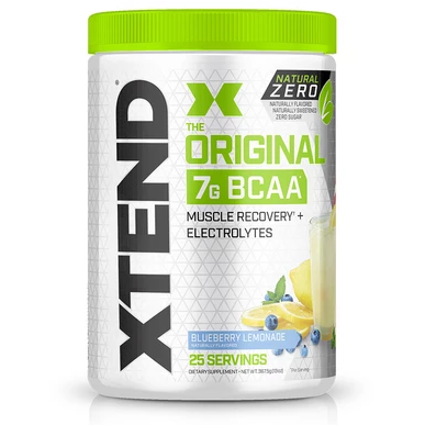 XTEND BCAA Natural Zero  (25 Servings) - Top Nutrition and Fitness Canada