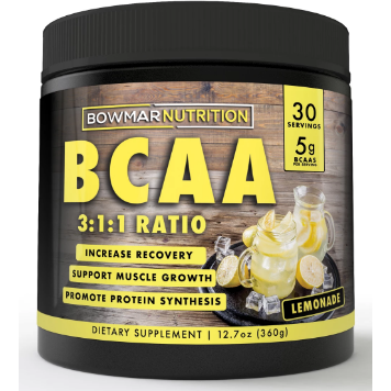 Bowmar Nutrition BCAA'S (30 servings - $1.83/serv ) - Top Nutrition and Fitness Canada