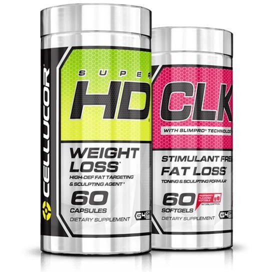 Cellucor Super HD & CLK Ultimate Weight Loss Stack