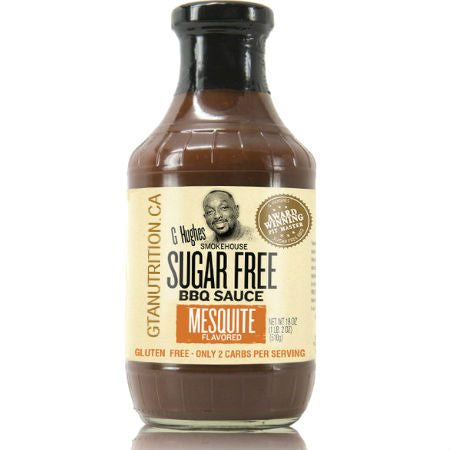 G Hughes Keto Sugar Free BBQ Sauce (18 oz bottle) - Top Nutrition and Fitness Canada