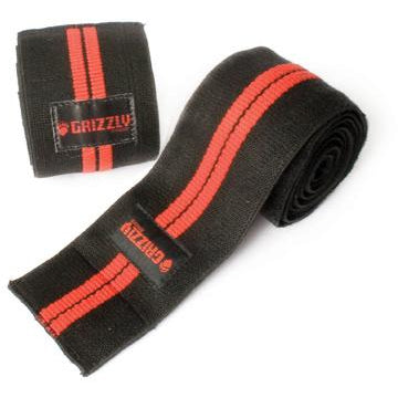 GRIZZLY Powerlifting Knee Wraps (1 pair) - Top Nutrition and Fitness Canada