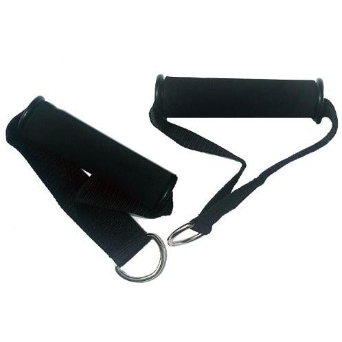 Handles for resistance bands (1 pair of 2 handles) - Top Nutrition and Fitness Canada