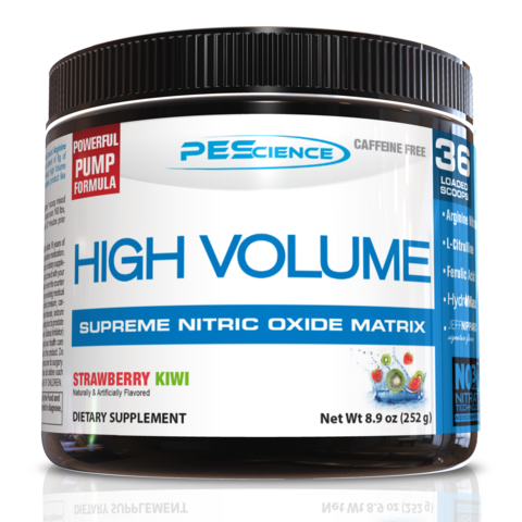 PEScience High Volume Stim-Free Pre-Workout (36 servings)