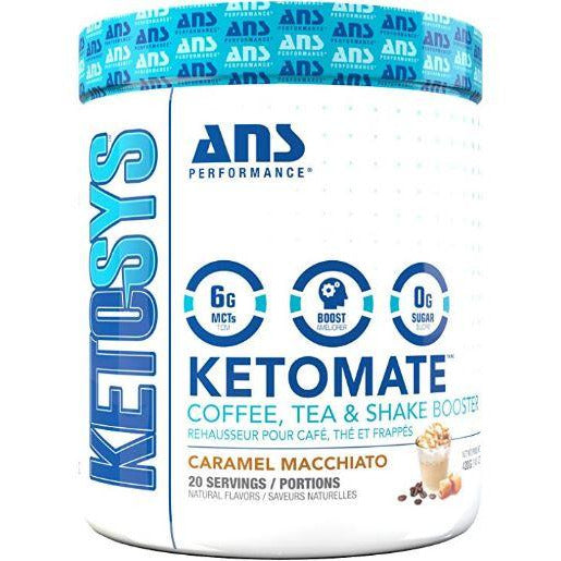 Ans Performance Ketomate Coffee Booster Caramel Macchiato - Top Nutrition and Fitness Canada