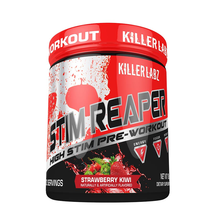 Killer Labz HIGH STIM Reaper Pre-Workout (30 servings) - Top Nutrition and Fitness Canada