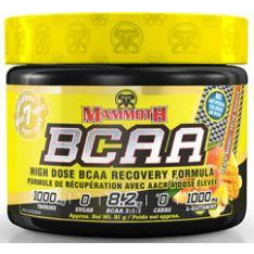 Mammoth BCAAs (7 servings) - Top Nutrition and Fitness Canada