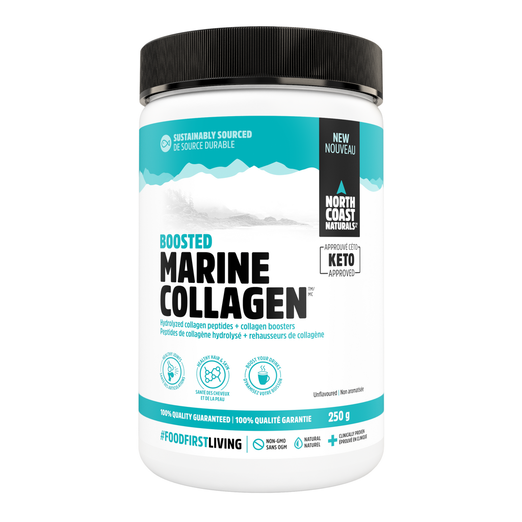 North Coast Naturals Marine Collagen (250g) - Top Nutrition and Fitness Canada