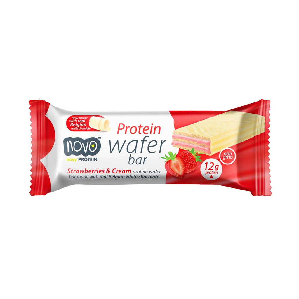 NOVO Protein Wafer (1 bar) - Top Nutrition and Fitness Canada