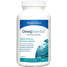 Progressive OmegEssential 120 softgels - Top Nutrition and Fitness Canada