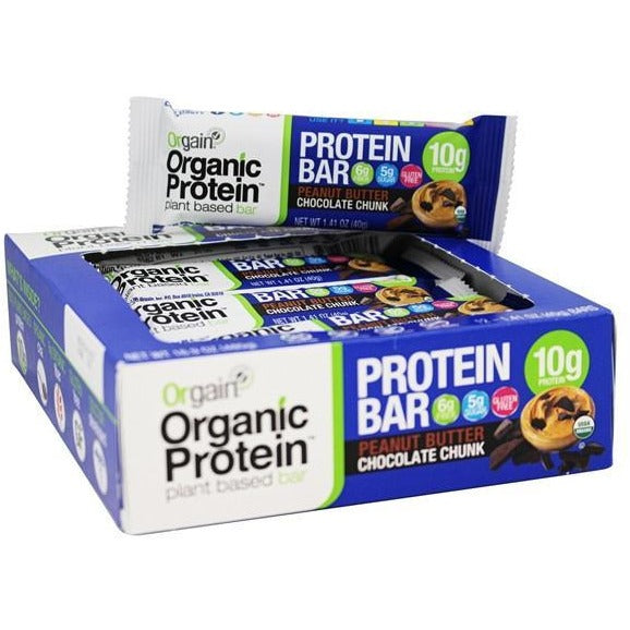 Orgain Vegan Protein Bars (Box of 12) - Top Nutrition and Fitness Canada