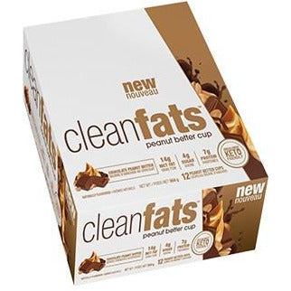 Nutraphase Clean Fats KETO Peanut Butter Cup (1 Box of 12) - Top Nutrition and Fitness Canada