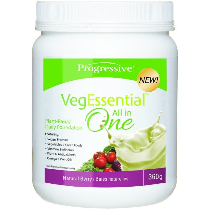 Progressive VegEssential 350g - Top Nutrition and Fitness Canada
