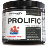 PEScience Prolific Pre-Workout (40 servings)