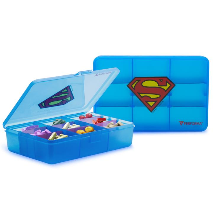 Performa Chest Pill Container Superman