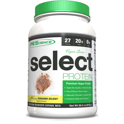 PEScience Select Vegan Protein (27 servings) - Top Nutrition and Fitness Canada