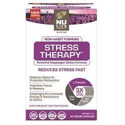 NuLife Stress Therapy (60 caps) - Top Nutrition and Fitness Canada