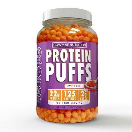 Bowmar Nutrition Protein Puffs (10 servings)