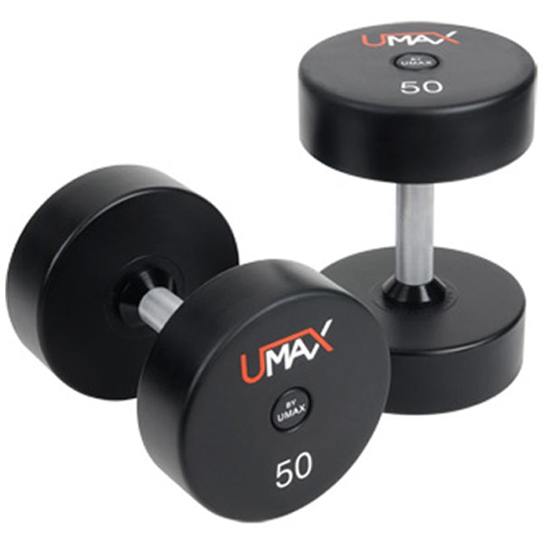 Urethane Dumbbells (1 PAIR of 2 dumbbells) - $3 per pound - STORE PICKUP ONLY - Top Nutrition and Fitness Canada