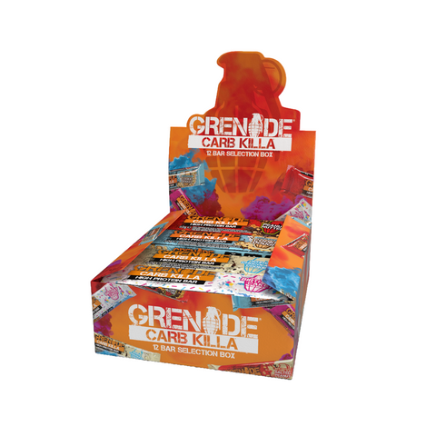 Grenade Carb Killa 12 BAR SELECTION BOX (limited edition)