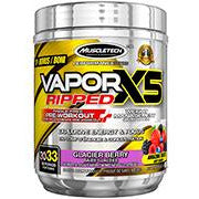 MuscleTech Vapor X5 Ripped Pre-Workout (33 Servings) - Top Nutrition and Fitness Canada