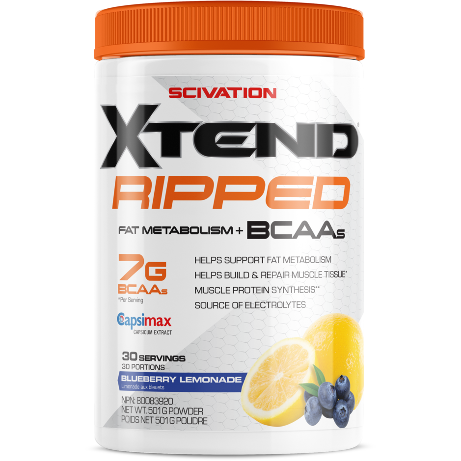 Scivation Xtend RIPPED BCAAs (30 servings) - Top Nutrition and Fitness Canada