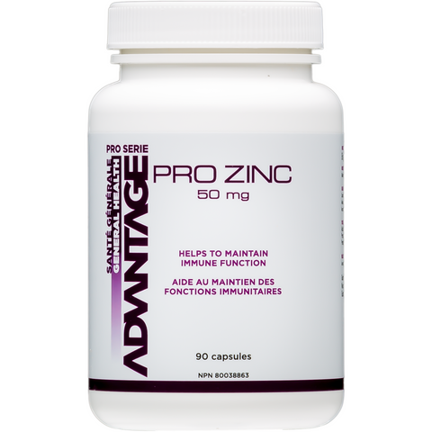 BNI Advantage Pro Serie Pro Zinc (90 capsules) - Top Nutrition and Fitness Canada