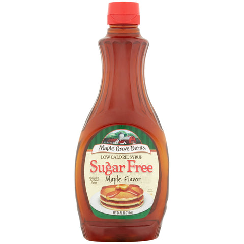 Maple Grove Farms Sugar Free Maple Syrup - Top Nutrition and Fitness Canada
