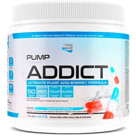 Believe Pump Addict Pre-Workout (50 servings) - Top Nutrition and Fitness Canada