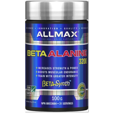 ALLMAX Beta-Alanine (100g) - Top Nutrition and Fitness Canada