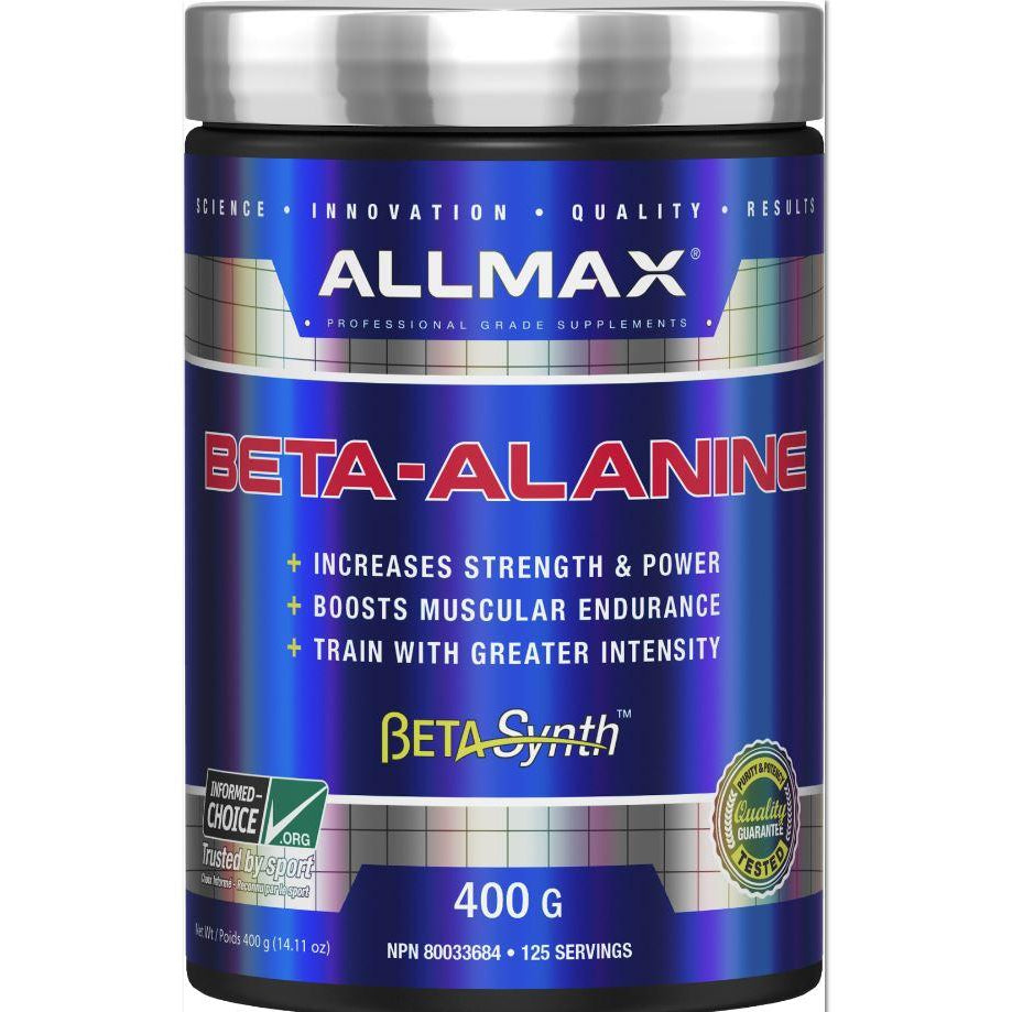 ALLMAX Beta-Alanine (400g) - Top Nutrition and Fitness Canada