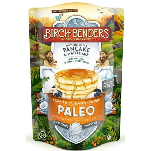 Birch Benders Paleo Protein Pancake & Waffle Mix (1 bag 12.0z) - Top Nutrition and Fitness Canada