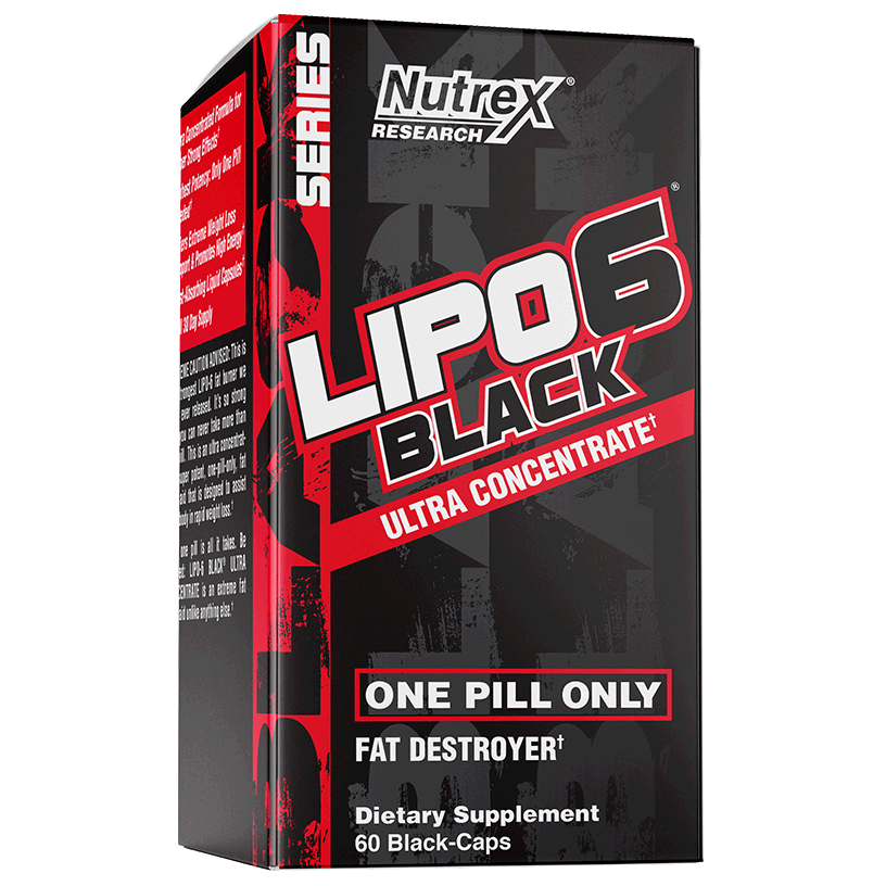 Nutrex Lipo-6 Black Ultra Concentrate Fat Burner (BONUS 72 Caps)