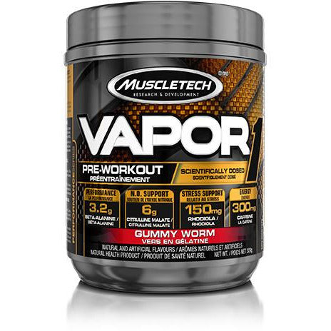MuscleTech Vapor1 Pre-Workout (20 servings) - Top Nutrition and Fitness Canada