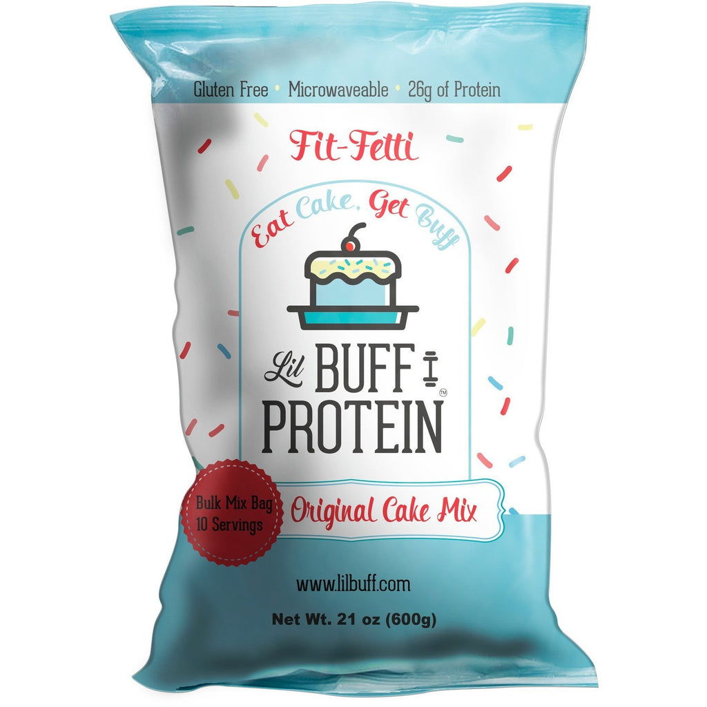 Lil Buff Protein Cake Mix (BULK BAG) - Top Nutrition and Fitness Canada